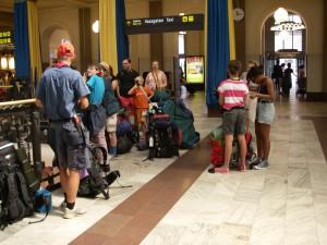 Samling på Centralen